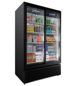 VRD37 BLACK STD SD 247x296 - Imbera VRD-37 Double Door Cooler