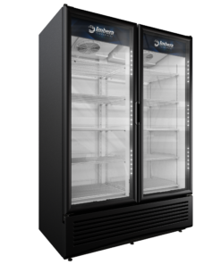 VRD43 BLACK STD  NO PRODUCT 247x296 - Imbera VRD-43 Double Door Cooler