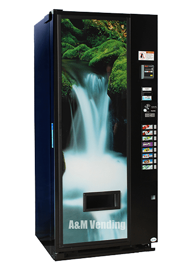 Vendo 621 Full Sign Drink Machine