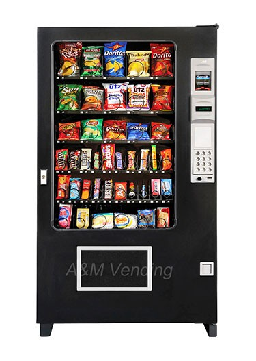 "AMS 39 Snack opt - AMS 39"" Snack Vending Machine"