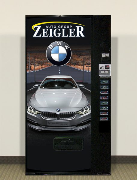refurbished vending machine