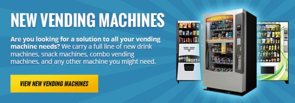 New Vending Machines - A&M Equipment