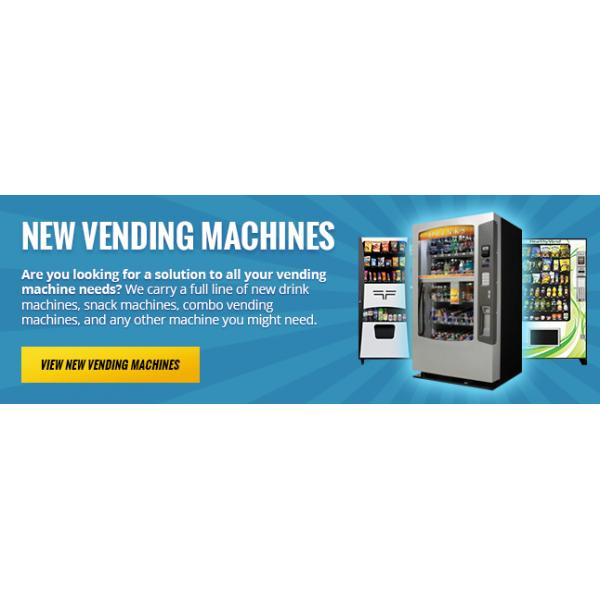 new vending machines a&m equipment sales